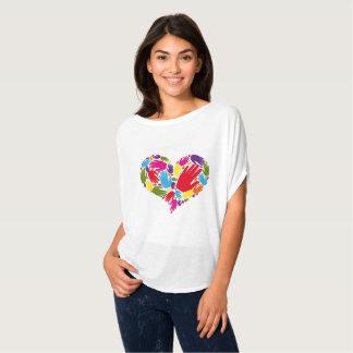 Camiseta Lona de Bella de las mujeres