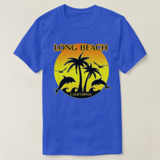 Camiseta Long Beach, delfínes del Ca