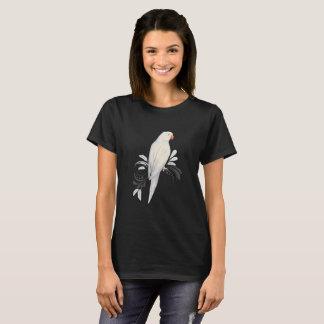 Camiseta Loro blanco de Ringneck del indio