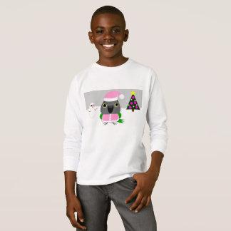 Camiseta loro de Senegal del オウムパロット como Santa para el