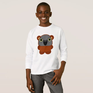 Camiseta loro de Senegal del オウムパロット en el traje de