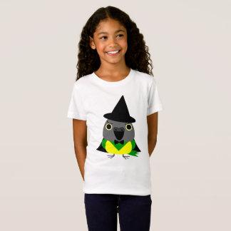 Camiseta loro de Senegal del ネズミガシラハネナガインコオウム como bruja