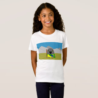 Camiseta loro de Senegal del ネズミガシラハネナガインコオウム listo para