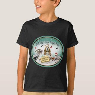Camiseta Los ángeles de Herald de la corteza cantan el