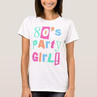 80s Party Girl Bright Pastel Chunky Eighties Retro