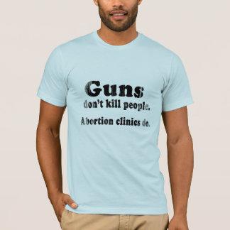 Camiseta Los armas no matan a gente. Las clínicas del