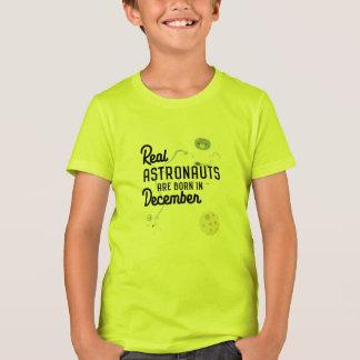 Camiseta Los astronautas son en diciembre Zcsl0 nacidos