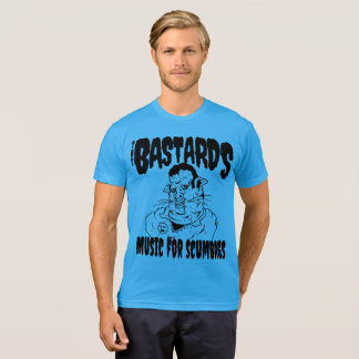 Camiseta Los bastardos: Música para Scumbags (seguro)