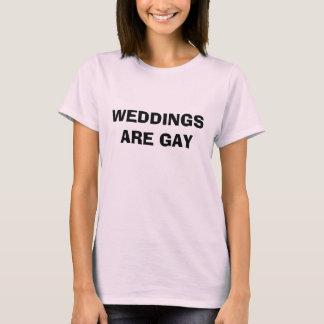 Camiseta Los BODAS SON GAY - modificado para requisitos