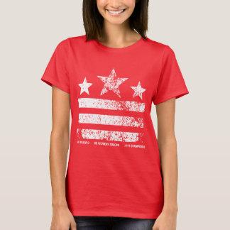 Camiseta Los campeones para mujer del fútbol de los