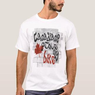 Camiseta Los canadienses robaron mi bici