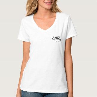 Camiseta Los chicas AWD aman sus curvas