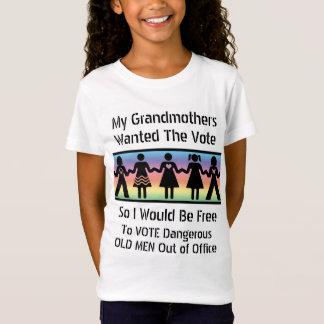 Camiseta Los chicas votarán