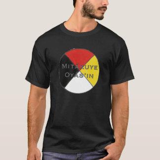 Camiseta Los colores oscuros Lakota de los hombres de