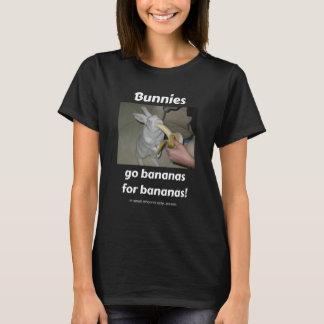 Camiseta Los conejitos van los plátanos para los plátanos