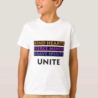 Camiseta Los corazones buenos, mentes feroces, las bebidas