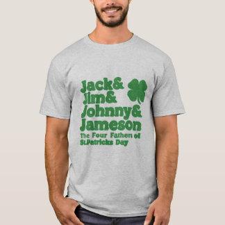 Camiseta Los cuatro padres del día del St. Patricks
