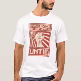 Camiseta Los disléxicos del mundo DESATAN