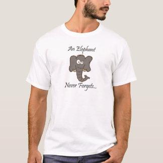 Camiseta Los elefantes nunca olvidan
