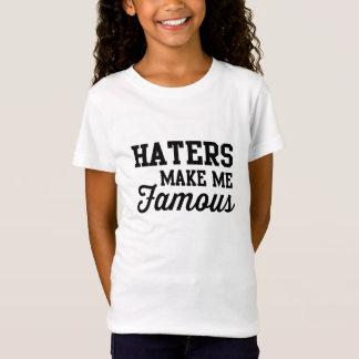 Camiseta Los enemigos me hacen famoso