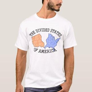 Camiseta Los estados divididos de la copia de América