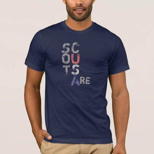 Camiseta Los exploradores son…  - punto culminante los