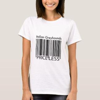 Camiseta Los galgos italianos son inestimables