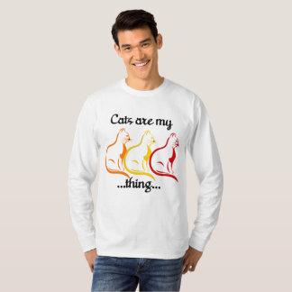 Camiseta Los Gatito-Gatos que se sientan agraciados son mi