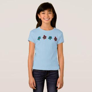 Camiseta Los gráficos del diseño floral de Josephine