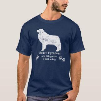 Camiseta Los grandes Pirineos - todo lo demás es apenas un