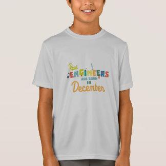 Camiseta Los ingenieros son en diciembre Z6r6a nacidos