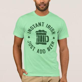 Camiseta Los irlandeses inmediatos de NSPBgtxt RND apenas