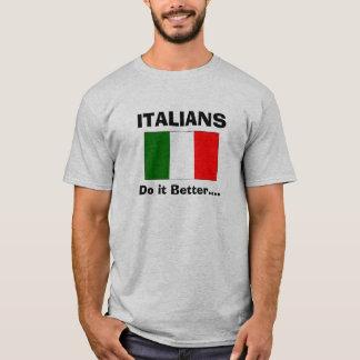 Camiseta Los italianos mejora…