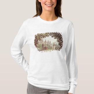 Camiseta Los jardines del castillo de Windsor