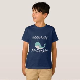 Camiseta Los libros son mi oxígeno