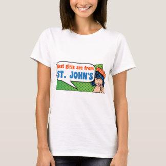 Camiseta Los mejores chicas son de San Juan