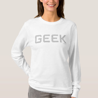 Camiseta Los monstruos de ordenador del código binario del
