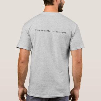 Camiseta Los narradores dan el buen gris para hombre aural