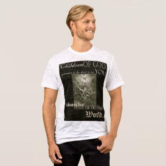 Camiseta Los niños de los individuos de dios apenaron la