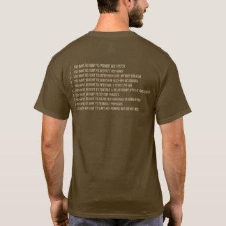 Camiseta Los novios no tienen derechas