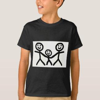 Camiseta Los papás gay adoptan