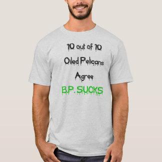 Camiseta Los pelícanos están de acuerdo, BP chupan