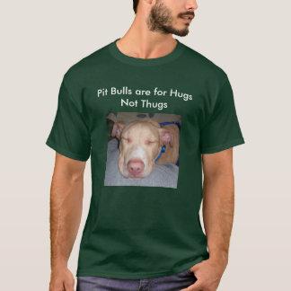 Camiseta Los pitbulls están para los gamberros de los