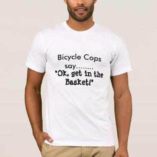 Camiseta Los polis de la bicicleta dicen