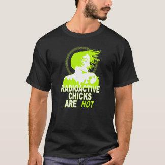Camiseta Los polluelos radiactivos son calientes