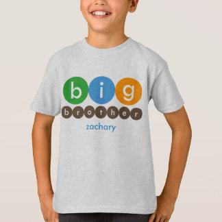 Camiseta Los puntos de hermano mayor personalizaron la