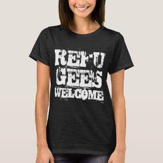 Camiseta Los refugiados dan la bienvenida en los E.E.U.U.
