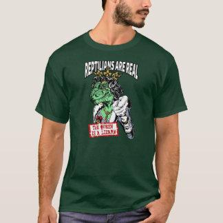 Camiseta Los Reptilians son reales - la reina es un lagarto