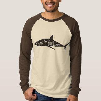 Camiseta ¡Los tiburones son gente también!