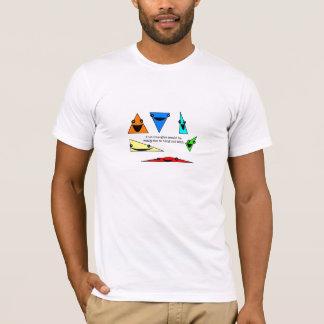 Camiseta ¡Los triángulos son diversión!